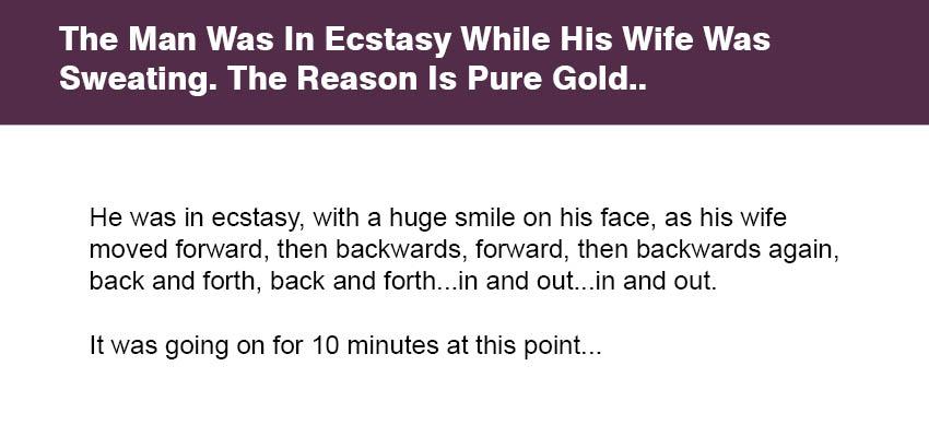 on ecstasy Wife